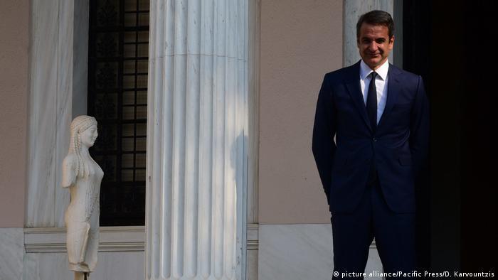 Greece l Greek Prime Minister Kyriakos Mitsotakis
