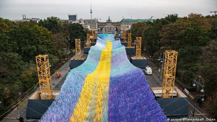 Berliner Wahrzeichen: das Brandenburger Tor