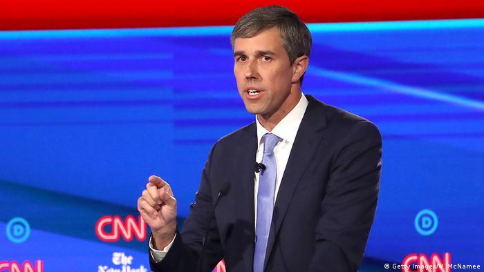 USA Beto O'Rourke, Präsidentschaftskandidat Demokratische Partei   Wahlkampf in Ohio