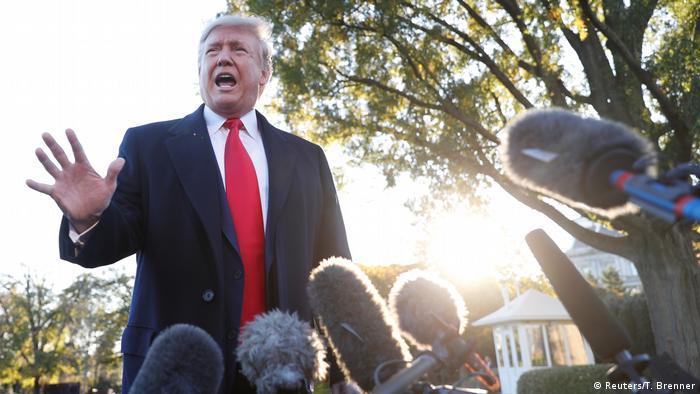 USA Washington Weißes Haus | Donald Trump, Präsident