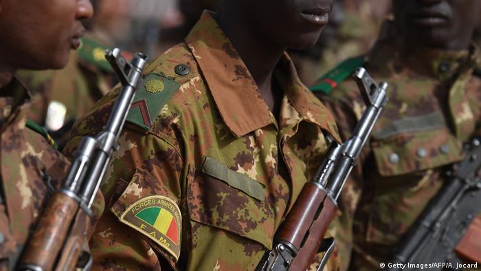 Soldados das Forças Armadas do Mali