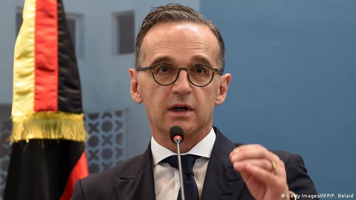 Министр иностранных дел Германии Хайко Мас (фото из архива)