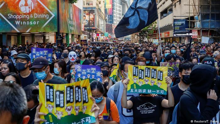 China Hongkong Proteste (Reuters/T. Peter)