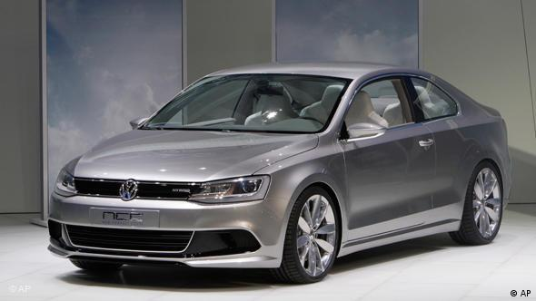 Volkswagen New Concept Coupe hybrid