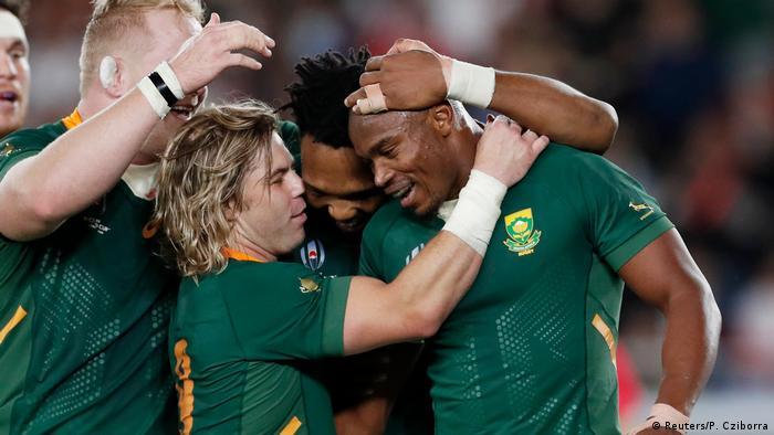 Sudafrika Ist Wieder Rugby Weltmeister Sport News Dw