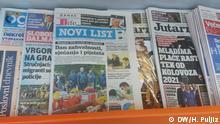 Kroatien l Kroatische Tageszeitungen - u.a. Novi List