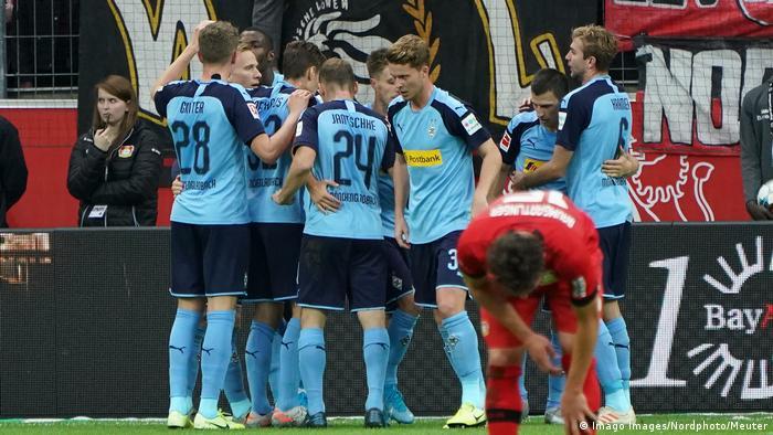 Bundesliga |  Bayer 04 Leverkusen vs. Bayer 04 Leverkusen.  Borussia Moenchengladbach (Imago Images / Northern Photo / Meuter)