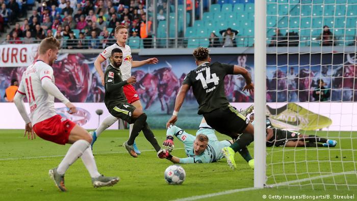 Un impresionante triunfo por 8 a 0 logró el RB Leipzig ante el Maguncia.