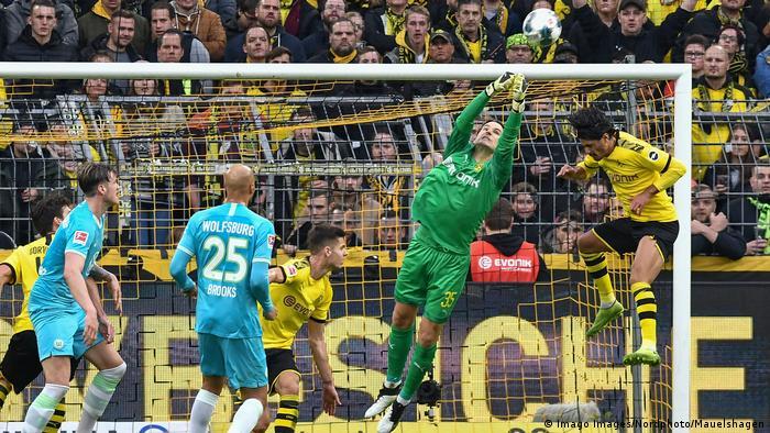 Dortmund Liefert Gegen Wolfsburg Sport Dw 02 11 2019