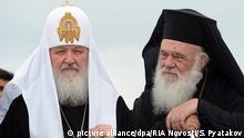 Griechenland Kirche l Besuch von Patriarch Kirill