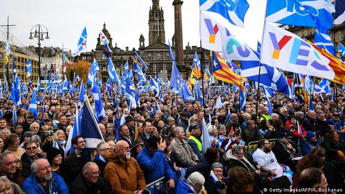 UK Independence Rally in Glasgow (Getty Images / AFP / A. Buchanan)