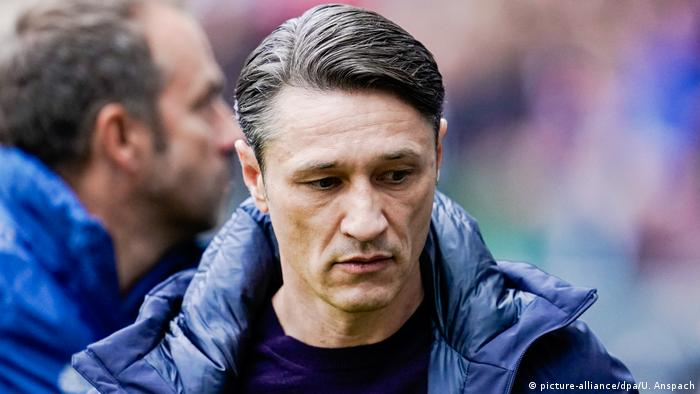 1. Bundesliga l Eintracht Frankfurt vs Bayern München l Enttäuschung - Kovac (picture-alliance/dpa/U. Anspach)