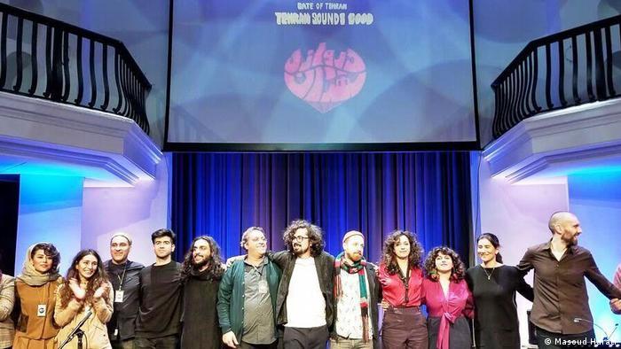 فستیوال دروازه تهران جمعه ۱۰ آبان (اول نوامبر) با چندین اجرا در سالن Silent Green برگزار شد
