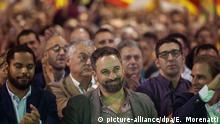 Santiago Abascal, Vorsitzender der rechten VOX-Partei