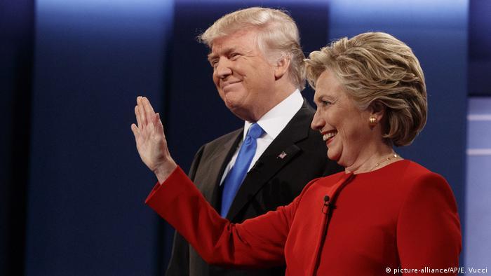 Дональд Трамп и Хиллари Клинтон (фото из архива)