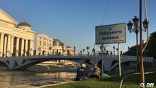 Balkan Booster - Projekt der DW in Skopje, Nord-Mazedonien - Verseuchung des Flusses Vardar