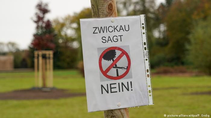 Zwickau |  New memorial place for victims of the NSU (picture-alliance / dpa / P. Endig)