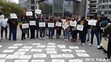 03.11.2019 Ethiopians living in Frankfurt demonstrate to condemn conflicts occurred in October