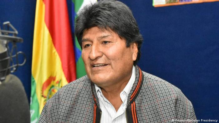 Bolivien Präsident Evo Morales