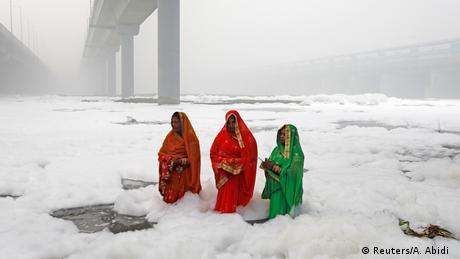 BdTD Indien Hindu-Festival Chatth Puja (Reuters/A. Abidi )