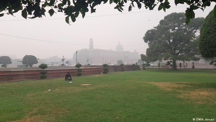 Indien Luftverschmutzung in Delhi (DW/A. Ansari)