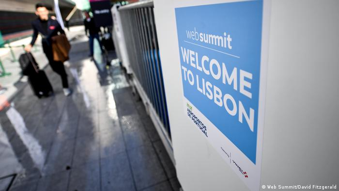 Portugal Web Summit in Lissabon