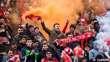 01.11.2019 Fußballspiel Tractor Sazi Tabriz gegen Esteghlal Teheran am 01.11.2019