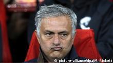 Großbritannien, Manchester, José Mourinho Trainer