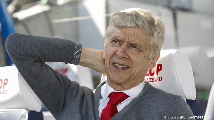 Premier League, Arsenal Manager Arsene Wenger (picture-alliance/CITYPRESS 24)
