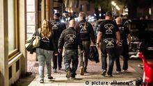 Symbolbild - rechte Bürgerwehr - Neonazis