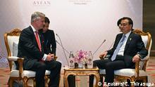 Ostasien Gipfel in Bangkok Li Keqiang mit Robert C. O'Brien