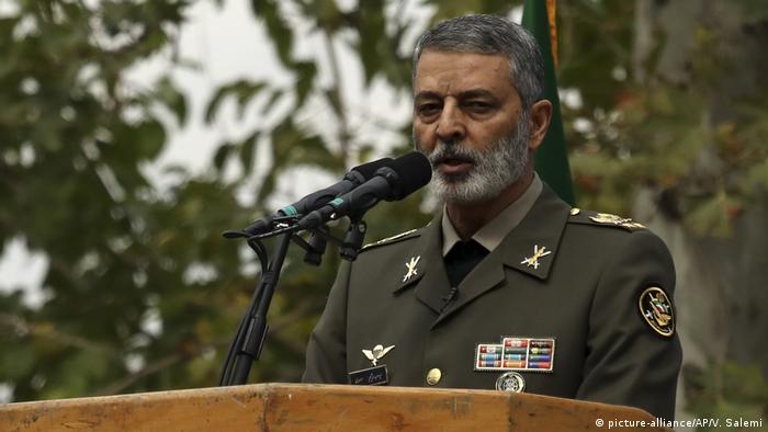 Abdolrahim Mousavi - Kundgebung im Iran zum 40. Jahrestag US-Botschaftsbesetzung