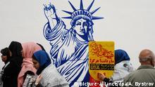 Kundgebung im Iran zum 40. Jahrestag US-Botschaftsbesetzung