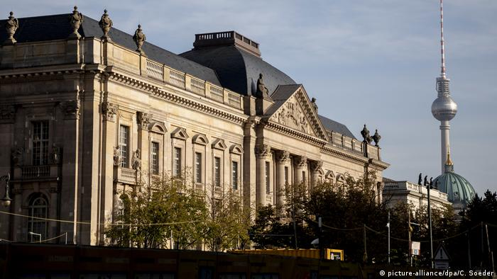 Berlin Sanierte Staatsbibliothek Unter den Linden