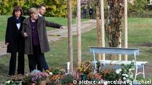 Bundeskanzlerin Merkel besucht NSU-Gedenkort in Zwickau