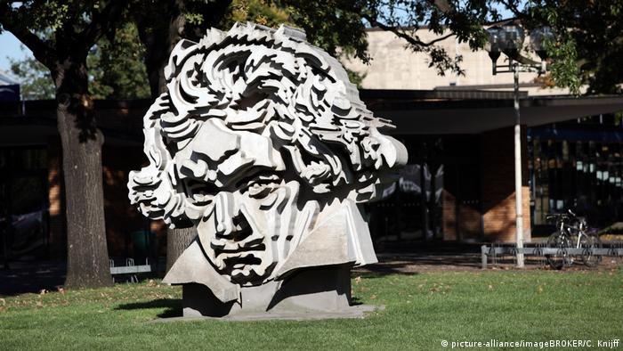 Beethoven sculpture in Bonn