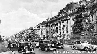 Berlin Staatsbibliothek Unter den Linden 1938