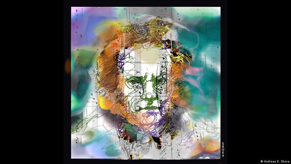 Andrea E. Sroka illustriert Beethovens Natur-Symphonie mit grafischen Mitteln am Computer