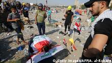 Irak Anti-Regierungsproteste | Ausschreitungen & Gewalt in Bagdad