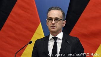 Außenminister Maas besucht Budapest (picture-alliance/dpa/MTI/Z. Mathe)