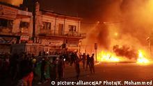 Irak Bagdad gewaltsame Proteste