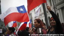 Chile Protest & Demonstrationen in Santiago (picture-alliance/dpa/Agencia Uno)