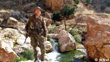 Irak Sindschar-Gebirge YPG-Kämpfer