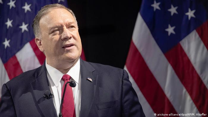 Mike Pompeo (picture-alliance/dpa/AP/M. Altaffer)