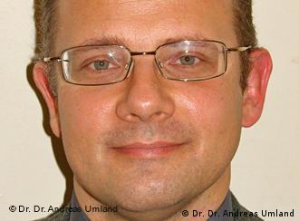 Андреас Умланд: Бюрократи не мають вказувати науці
