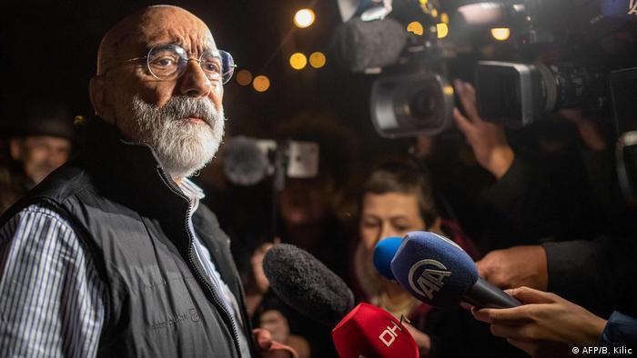 Liberado y detenido de nuevo: Ahmet Altan.