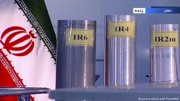 Irán inauguró la víspera una cadena de 30 centrifugadoras IR-6 avanzadas en la planta de Natanz.