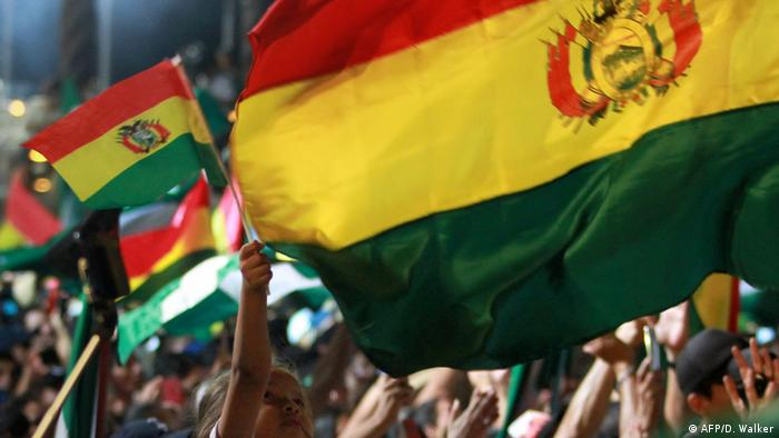 Protestas en Bolivia contra los resultados de las elecciones. (4.11.2019).