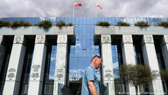 Polen Oberster Gerichtshof in Warschau