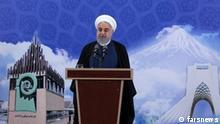 Hassan Rouhani, iranischer Präsident